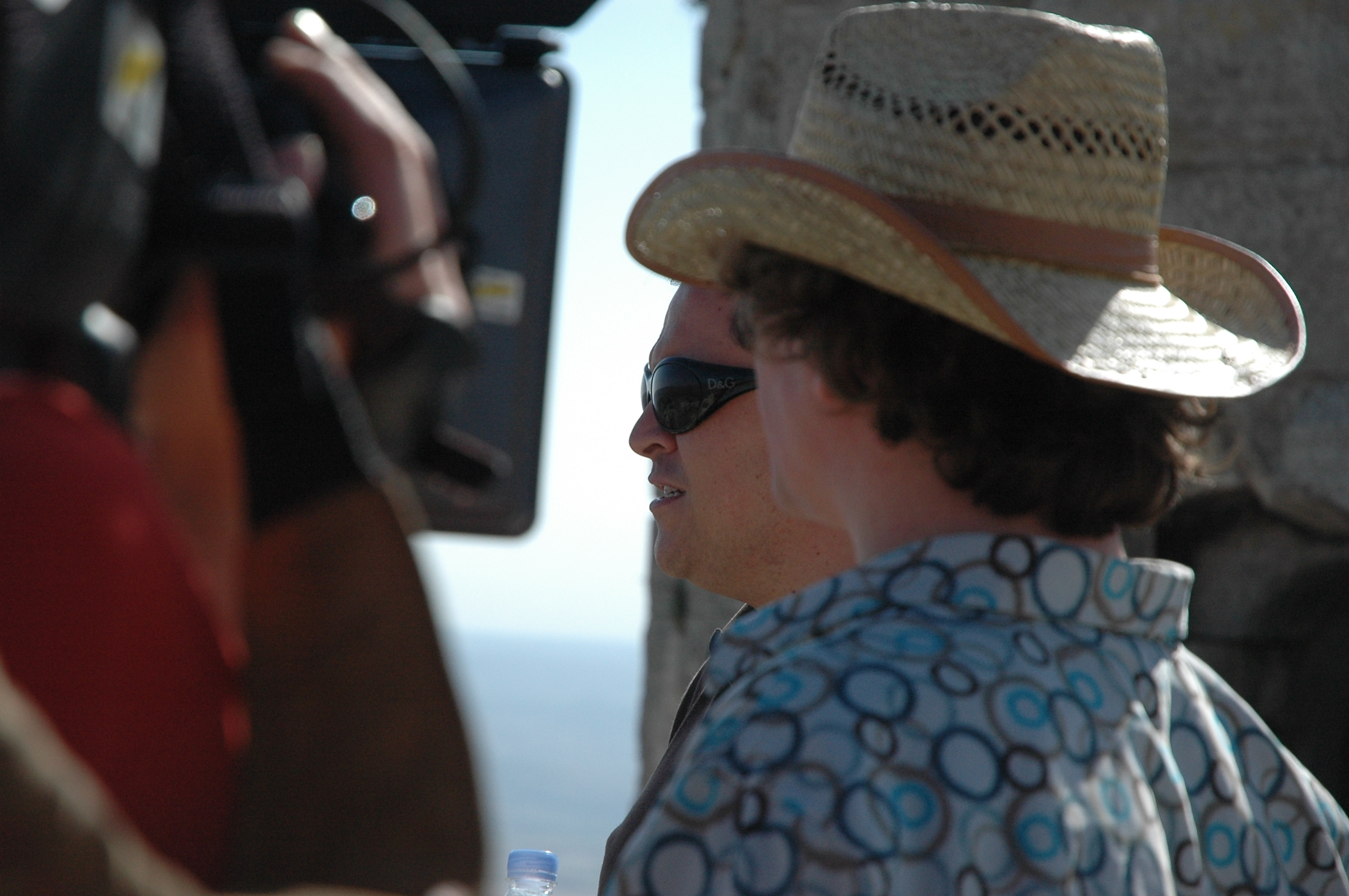 Up close and filming Stewart Innes Syria filming Palmyra Dom Joly