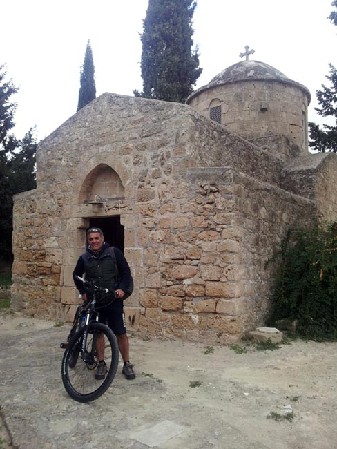 Stewart Innes - Ghost Bike in Cyprus