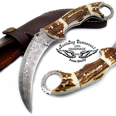 Damascus-steel-knives---hunting-and-collectors-knives-1233