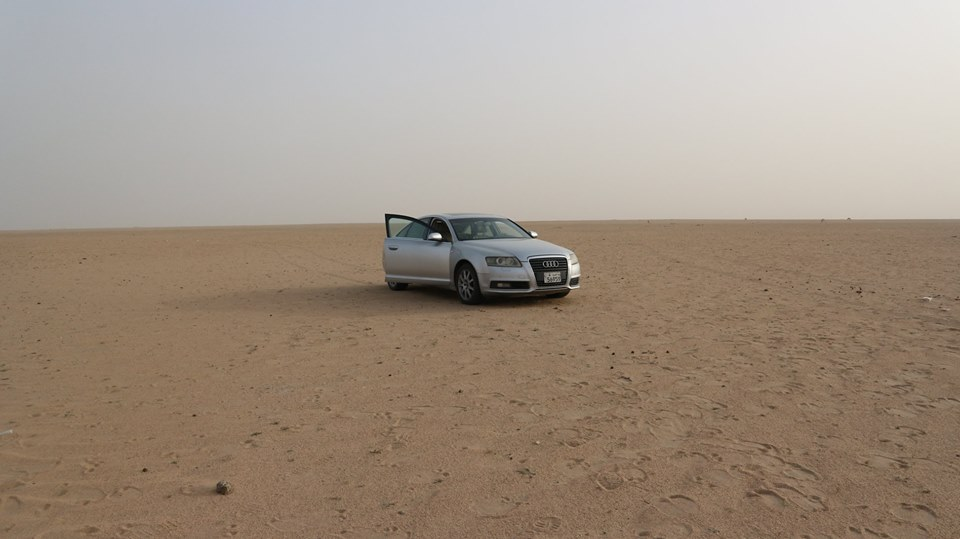 Stewart Innes 20190100 Kuwait Bahrah search for ancient city Audi fb